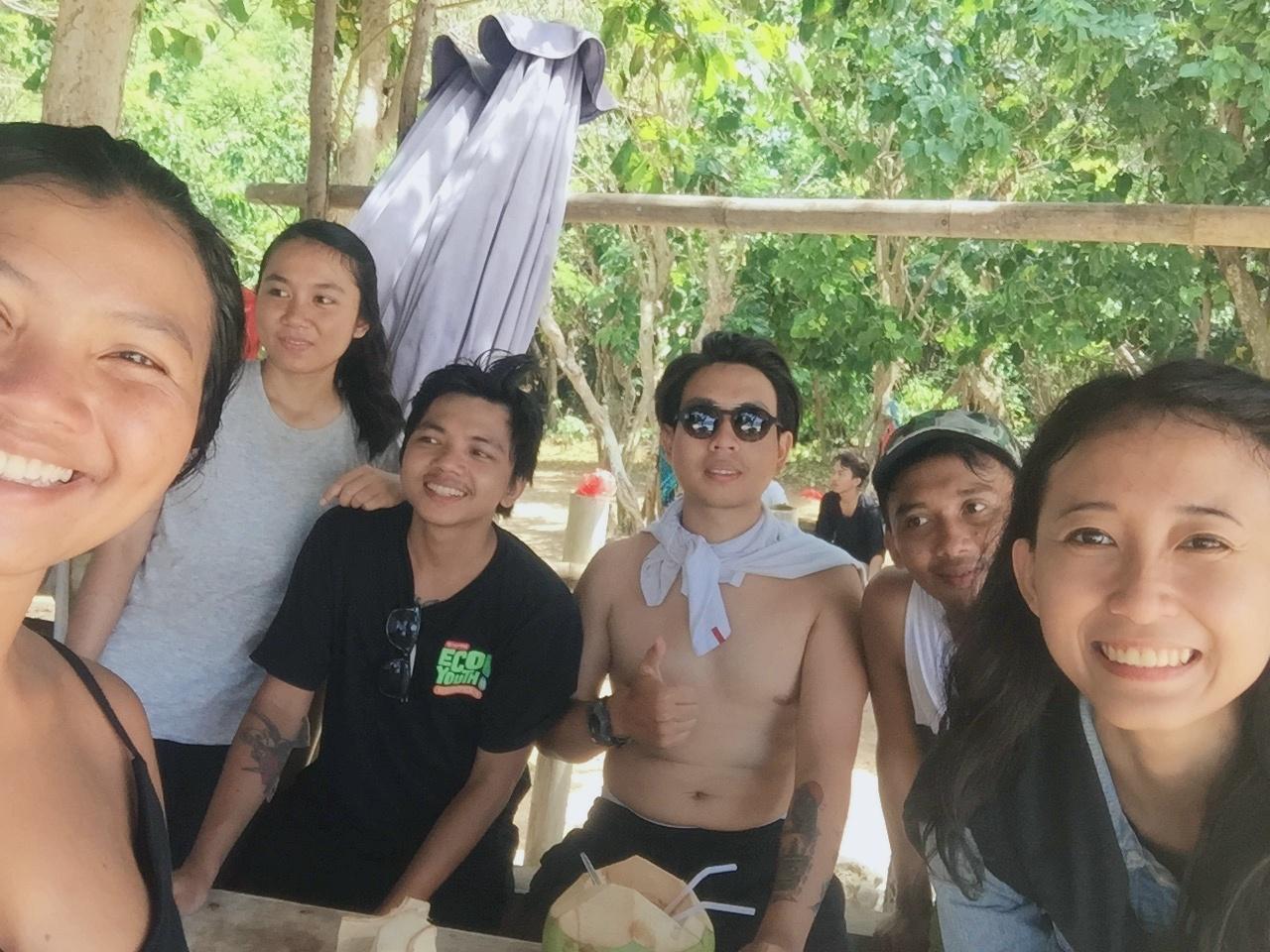 Outdoor Act - Camping in Nyang Nyang Beach - Ready to climb the hill