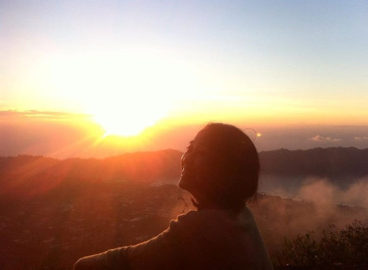 Sunrise at The Summit of Batur