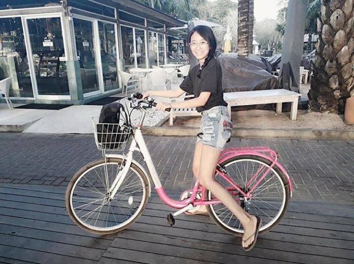 Cycling in Sanur Bali | Mademoiselleiola.com